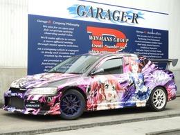 三菱 ランサーエボリューション 2.0 GT-A VII 4WD C-WESTエアロ GT-W 車高調 エアクリマフラ-