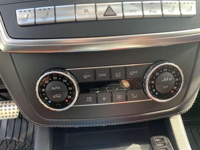 【オートエアコン】設定した温度に自動で調整してくれるので、夏も冬も車内はいつでも快適です!