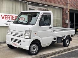 マツダ スクラムトラック 660 KC パワステ 3方開 4WD MT ゴムマット 検査4年5月