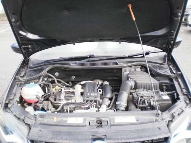 直列4気筒SOHC8バルブICターボエンジン