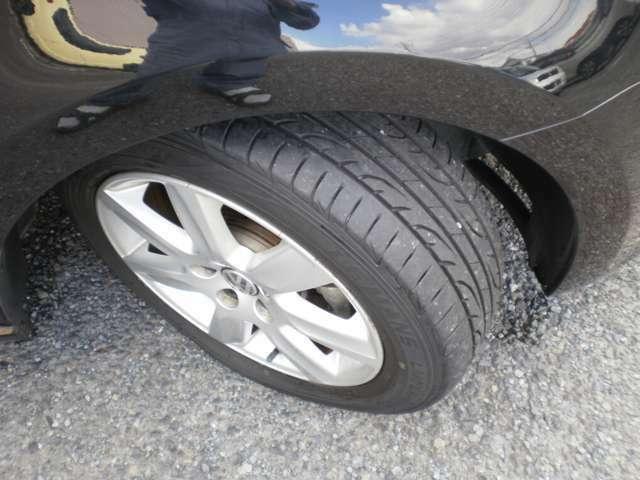 タイヤの山有り交換不要