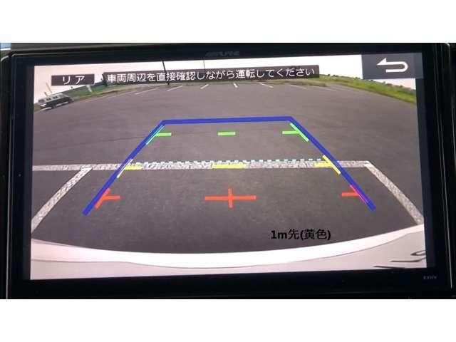 Bプラン画像:駐車時のバックをサポート、リバース連動バックカメラです☆