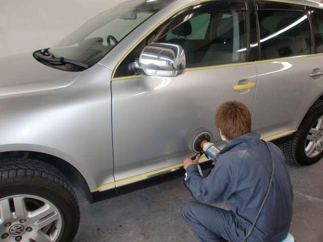 Bプラン画像:お客様の大切な車両を丁寧に仕上げさせて頂きます。
