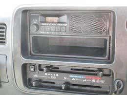 エアコン&FM/AMラジオを装備☆
