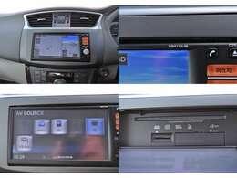 ☆純正メモリーナビ(MM112D-W)です。ワンセグTV、CD再生などオーディオ機能も付いています。