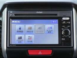 【ギャザズ ディスプレイコンポ】ワンセグTV 携帯電話接続 CD再生 USB端子