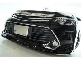 トヨタ カムリハイブリッド 2.5 後期モデリスタ仕様 新品ライト新品車高調