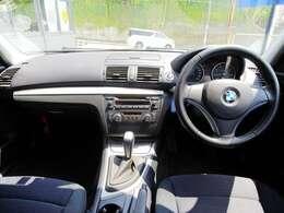 BMW伝統のインパネ!