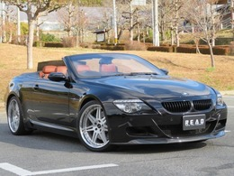 BMW M6 カブリオレ 5.0 除菌抗菌施工 茶革 20AW 車高調 マフラー