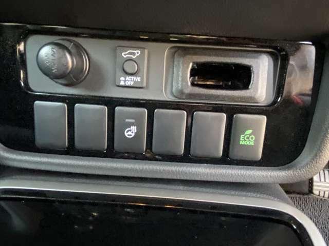 ステアリングヒーターのスイッチはこちらに
