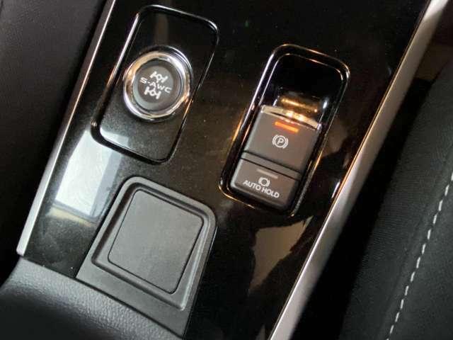 コーナーリング性能をアップさせるS-AWCと電動パーキングも装備!