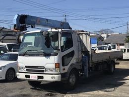 三菱ふそう ファイター ・TADANO3段クレーン ・ラジコン付き