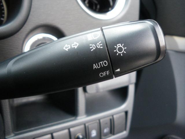 快適装備のオートライトシステム!