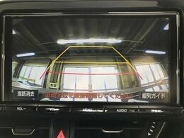 【バックカメラ】運転席から見づらい車後方の視認性が高まります!バック駐車が苦手な方や狭いスペースへの車庫入れなどで大活躍です!