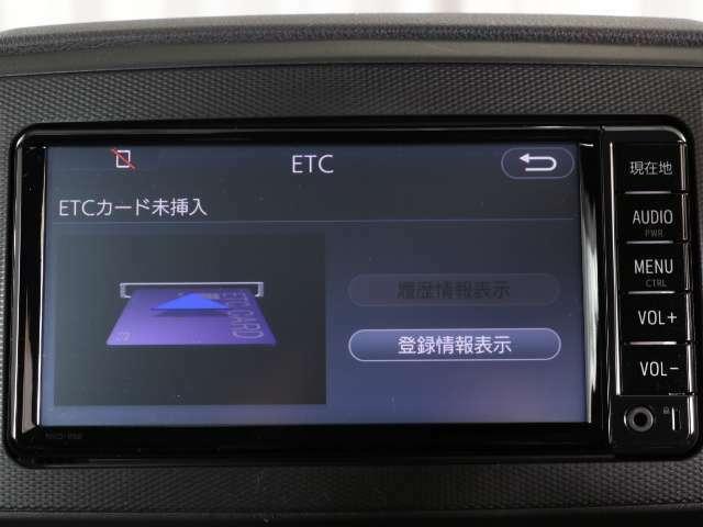 ETC装着なら高速の料金所も渋滞少なくスイスイ通過!今やドライブの必須アイテムですね!!スマートICもご利用いただけますよ♪