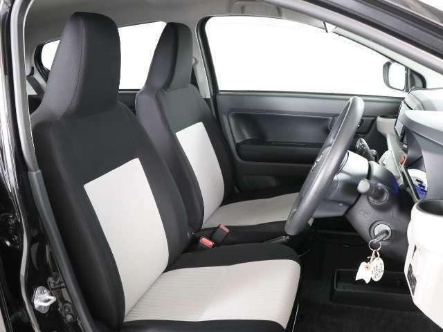 ゆったりシートでロングドライブも大丈夫♪是非、現車を見て体感してみてください!