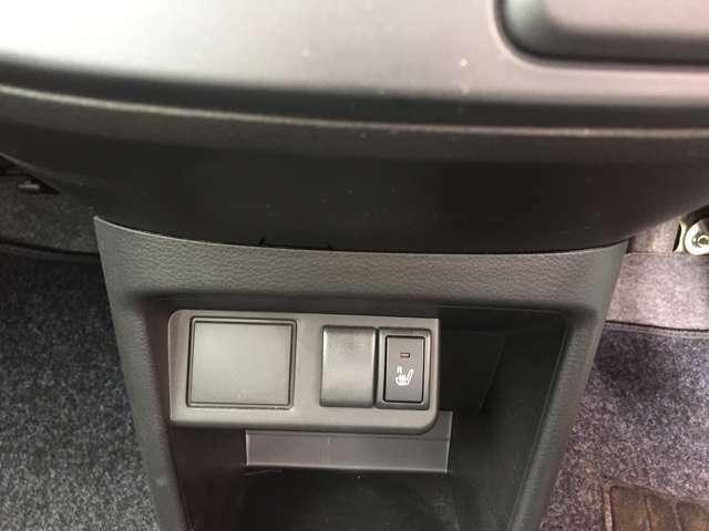 シートヒーター☆運転席のシートが暖かくなります☆