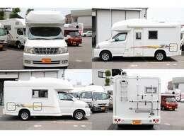 H17 グランドハイエース ファーストカスタム製CG565ブレイン 3.4 4WD AT 乗車定員4名就寝目安4名 車両寸法565cm×209cm×280cm 1オーナー ナビ バックカメラ ETC