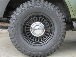 新品DEANカリフォルニア16インチAWに新品BFグッドリッチMTタイヤの組み合わせ!
