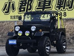 三菱 ジープ 2.7 ディーゼルターボ 4WD パワステ リフトアップ 新品ブロックタイヤ