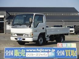 いすゞ エルフ 平トラック2t全低床 三方開 4.8D 5MT 荷台寸310×160