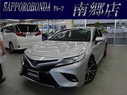 トヨタ カムリ 2.5 WS レザーパッケージ E-Four 4WD ドラレコ 衝突軽減B レーンアシスト