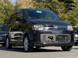 三菱 eKスポーツ 660 R 4WD /検2年/Tベルト交換済/ターボ/ナビ/HID