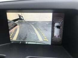 カラーバックカメラを装備しておりますので安全にバックする事が可能になっております♪バックが苦手な方でも安心して駐車する事が出来ますよ♪画面もクリアで嬉しいですね♪コーナーセンサーも付いて更に安心♪