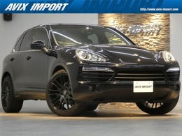 ポルシェ カイエン 3.6 ティプトロニックS 4WD V6 黒革 純正HDDナビ 社外22AW 右H 正規D車