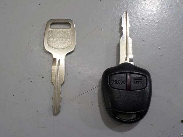 キーレスエントリー。ボタン一つで施錠・解錠ができる便利な機能