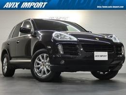ポルシェ カイエン S ティプトロニックS 4WD 右H正規D車 ガラスSR 黒革 Sヒーター PAS