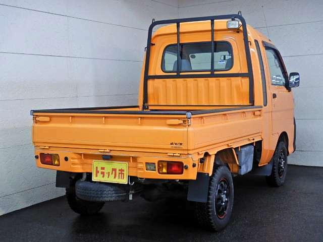 平ボディー パートタイム4WD オレンジ全塗装 バンパー等チッピング塗装