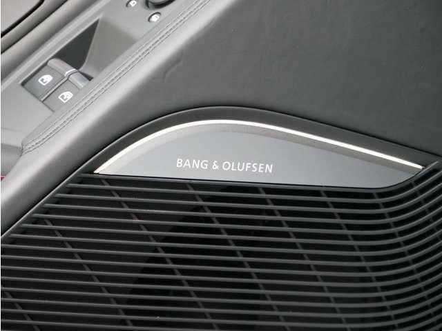 Bang&Olfsenも装備。