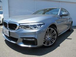 BMW 5シリーズ 523d Mスポーツ ディーゼルターボ ハイラインブラック革19AW 認定中古車