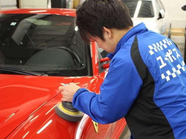 軽自動車から高級車まで、多数施工実績あり。