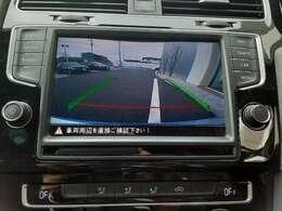 駐車時にも安心のバックカメラ搭載!!