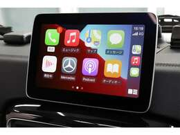 Apple CarPlayやAndroid Autoをお使い頂けます。