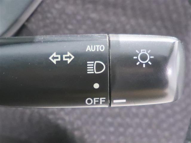 オートライト付 夕暮れ時やトンネルに入った時に自動点灯します!