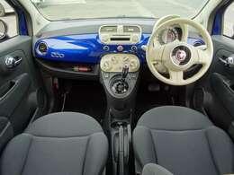 ◆ツートンカラーファブリックシート◆見切りの良い運転席で女性の方でも運転しやすいです!◆