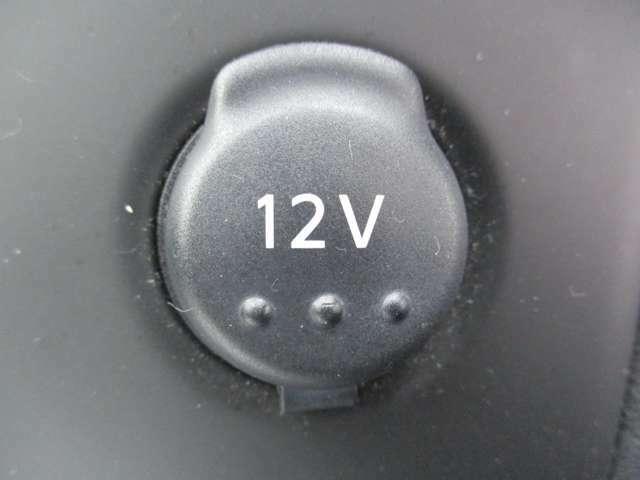 プラグタイプの電気製品の電源として使用出来る電源ソケット。
