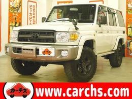 トヨタ ランドクルーザー70 4.0 4WD 5速MT デフロック 電動ウィンチ 背面タイヤ