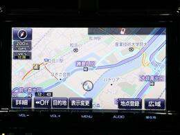 純正9インチSDナビゲーション☆タッチパネルで操作も簡単!!トヨタ純正で安心です。
