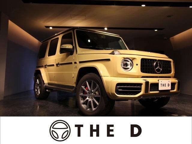 ディーラー車のG63です。特別な仕様になっておりますので直接お問い合わせ下さい。