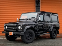 ランドローバー ディフェンダー 110SE ディーゼルターボ 4WD 正規D車04yTd5D-TB4WD5速右Hキーレス付