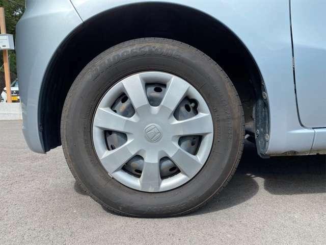 タイヤの溝も十分です。