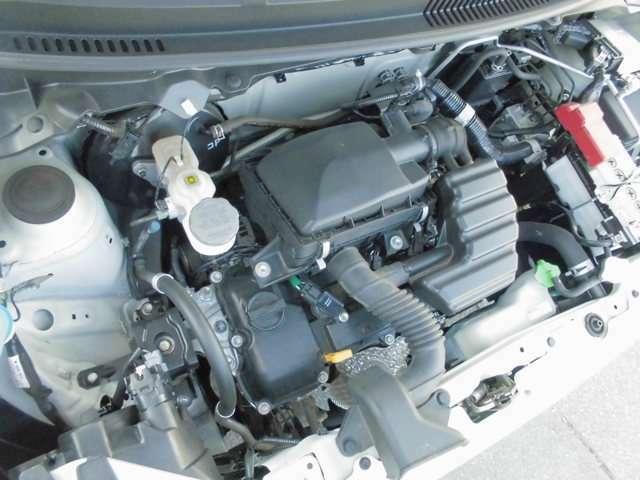 R06Aタイミングチェーン式エンジン搭載
