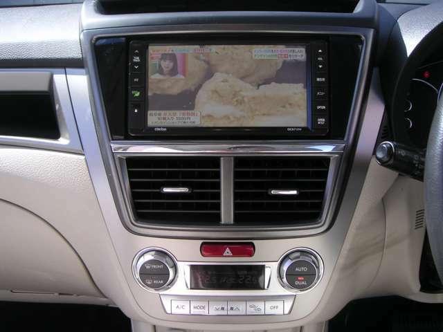 テレビは家でじゃなく車で見る方も多くなってきました。エアコンはもちろんオートエアコン。