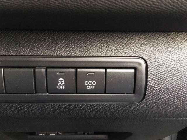 アイドリングストップ搭載車!スイッチでON/OFFの切り替えが可能です。