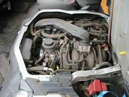 オイル漏れもなく距離も少ないエンジンになります
