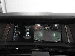 リアビューカメラと前後障害物センサー(PDC)装備で、駐車をサポート